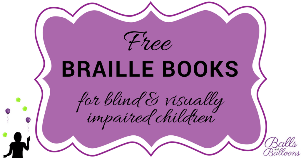 Free Braille Books For Blind And Visually Impaired Children