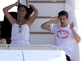 Antonella+Roccuzzo+Lionel+Messi+3