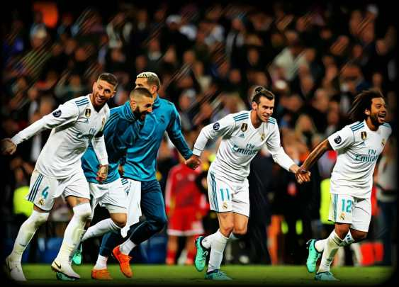 UCL winners Real Madrid