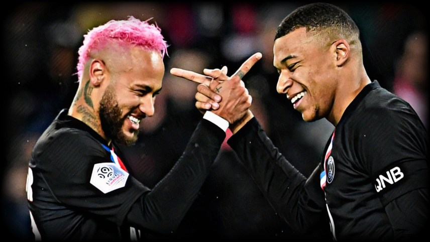 PSG Players - Neymar and Mbappe