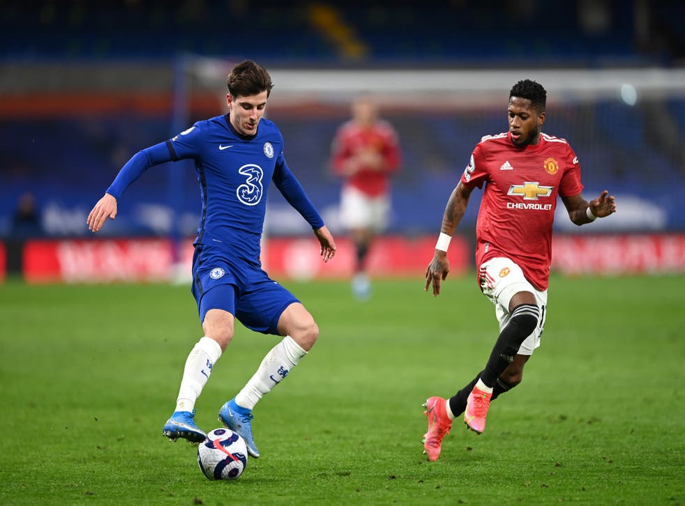 Chelsea player on the ball