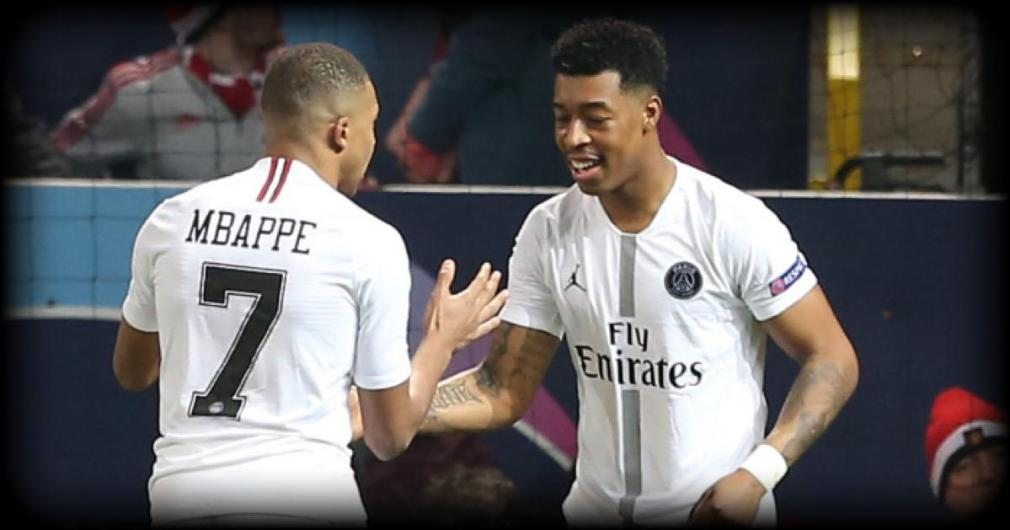 Mbappe and Kimpembe (PSG)