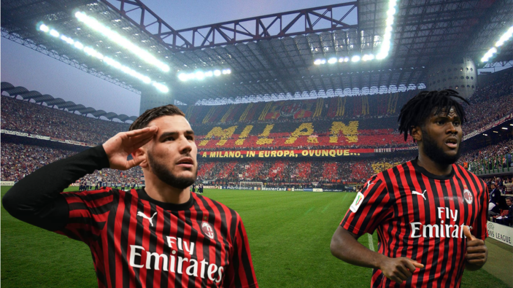 AC Milan  - Players to watch out for : Theo Hernandez and Kessie