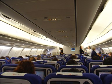 In the plane