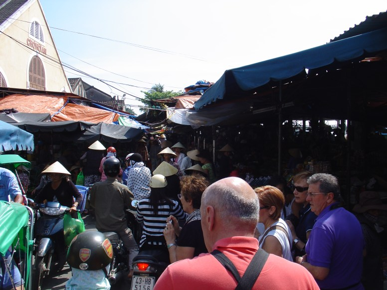 The central market in Hoi An.