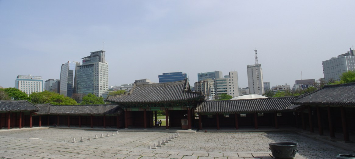 Main entrance of Kyung-Hee-Geung Palace.