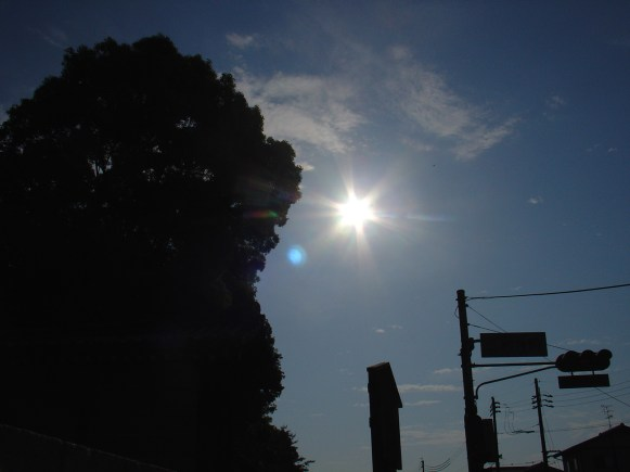 The sun - smallest aperture and fasted shutter available...