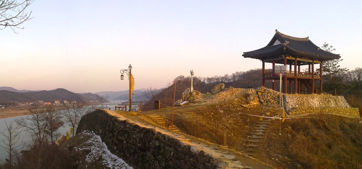 Gongsanseong (공산성) – on the walls of the castle in Gongju (공주)