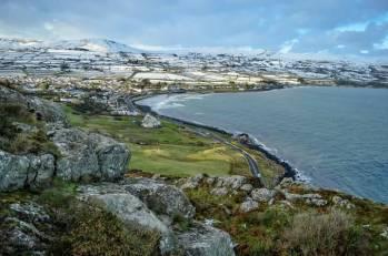 Ballygally from Golf club