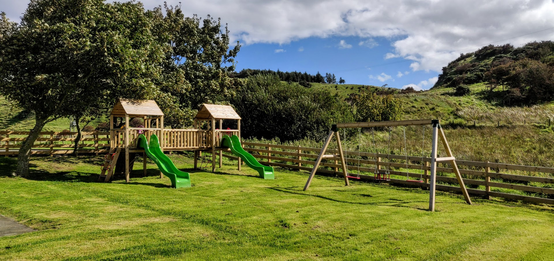 play area at ballygally