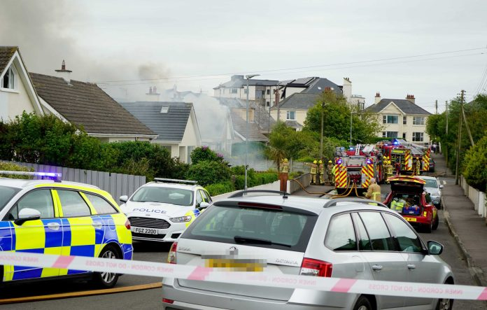 PORTSTEWART HOUSE FIRE 4