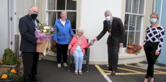 centenarian-receives-commemorative-coin-from-mayor-of-causeway-coast-and-glens-borough-council