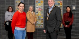 new-ni-100-community-artwork-unveiled-at-roe-valley-arts-and-cultural-centre
