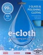 2 Glass & Polishing Cloths