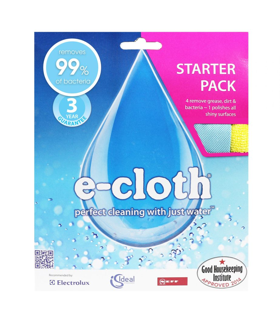 Starter Pack with 5 e-cloths