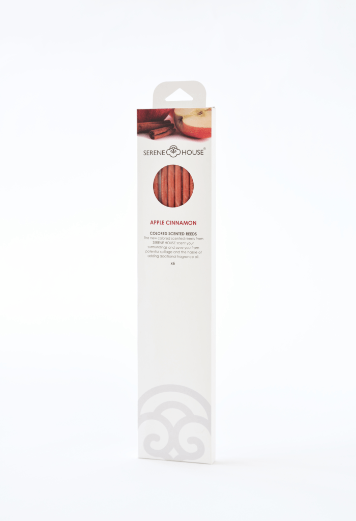 Apple Cinnamon - Colored Scented Reeds