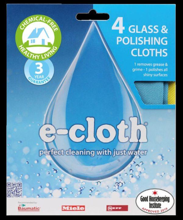 4 Glass & Polishing Cloths