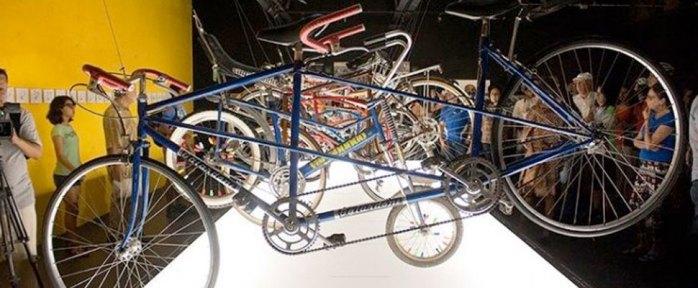 """Exposición  """"La vuelta a la bici"""" en el Museo El Amate del Parque Ecológico Barranca de Chapultepec"""