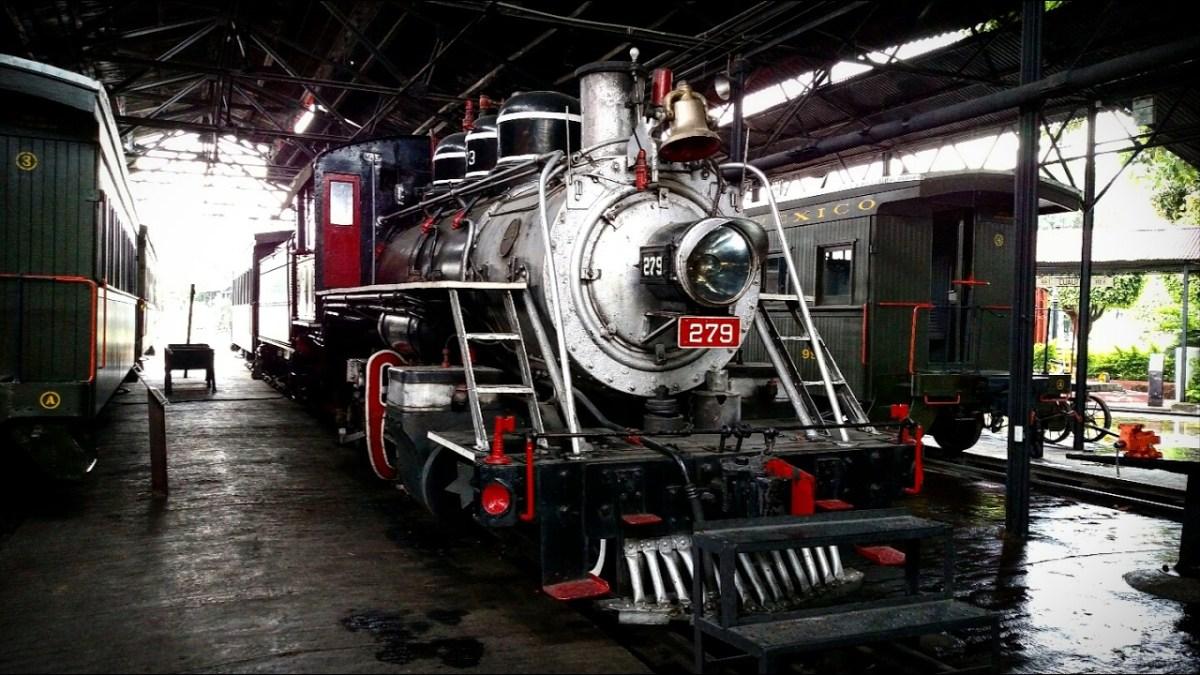 Museo Vivencial 279, tren de vapor que sigue funcionando