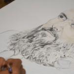 وزیر اعلیٰ بلوچستان جام کمال خان کے لیے ایک مصور کا تحفہ