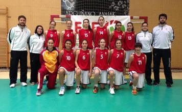 Selección Femenina de Castilla y León. Foto Basketcyl.com