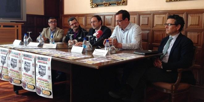 Presentación en el Ayuntamiento de Palencia de la Final Four Junior
