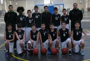 Selección de Castilla y León Mini Masculina. Foto Basketcyl