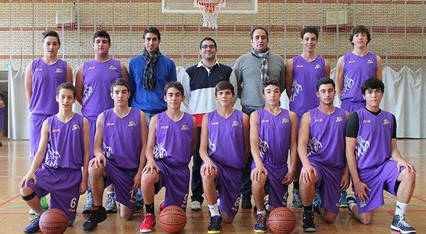 La plantilla del CD Maristas cadete afronta el reto de la Final Four. Foto Ruben Moro (Palenciabasket.com)