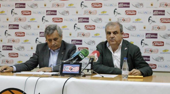 Gonzalo Ibañez y Fernando Martínez Zulaica en la rueda de prensa