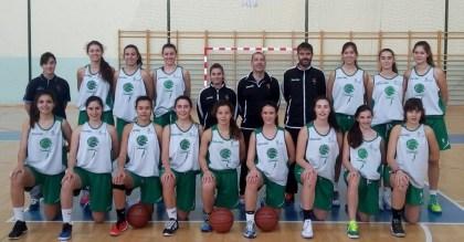 Selección femenina cadete de Castilla y León. Foto FBCyL