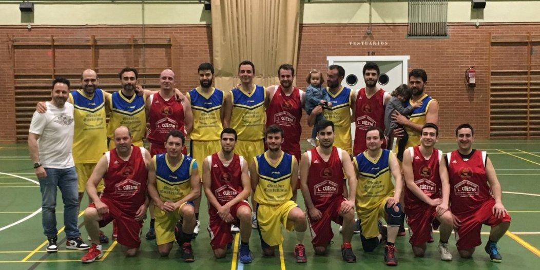 Foto de los finalistas. CB Carrión.