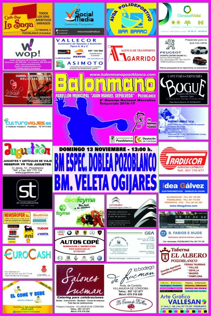 Balonmano Pozoblanco - Ogíjares