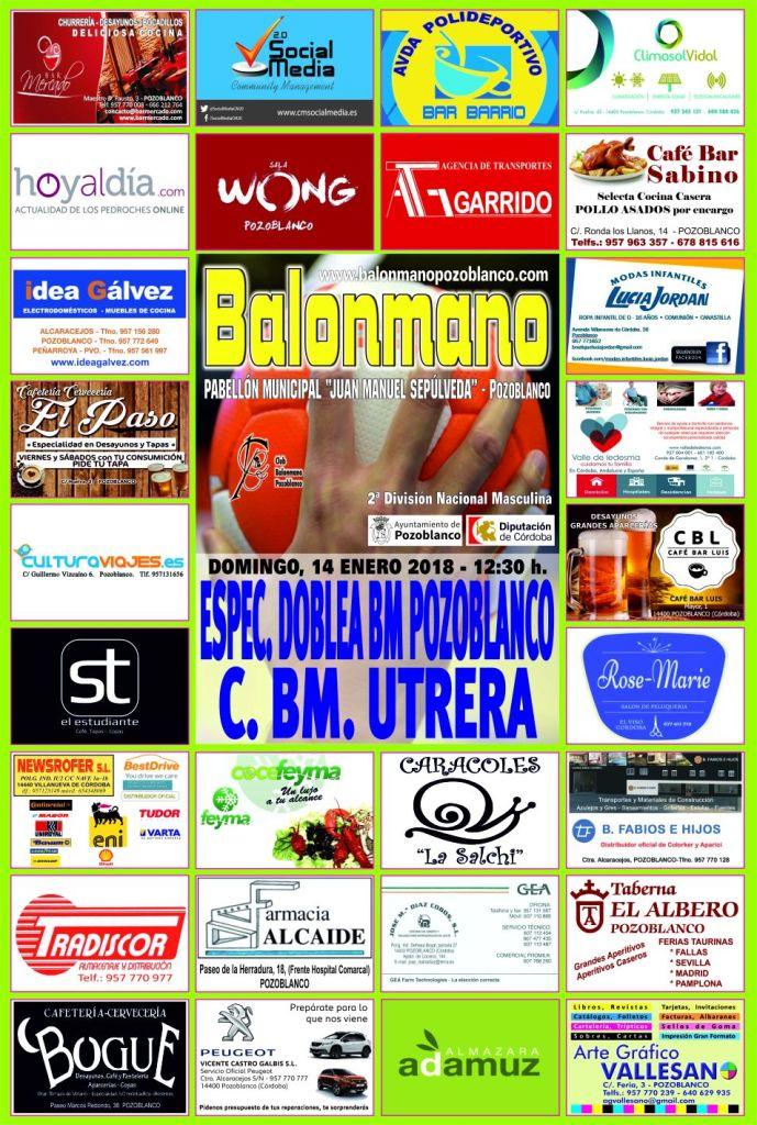 BM Pozoblanco - BM Utrera - Balonmano
