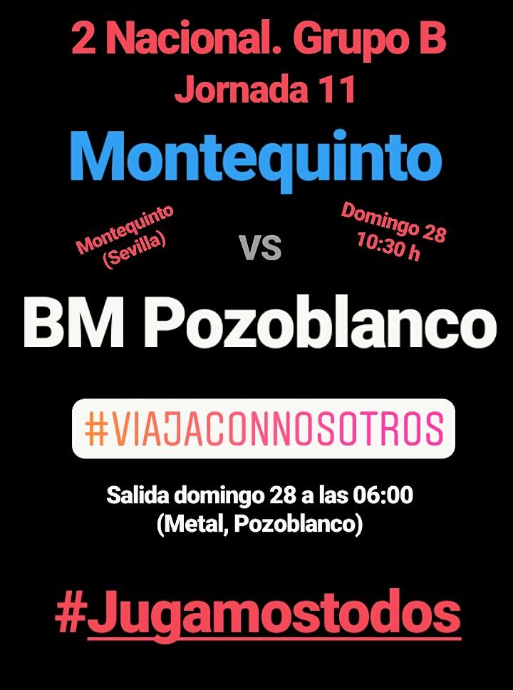 Viaje a Montequinto - Balonmano Pozoblanco
