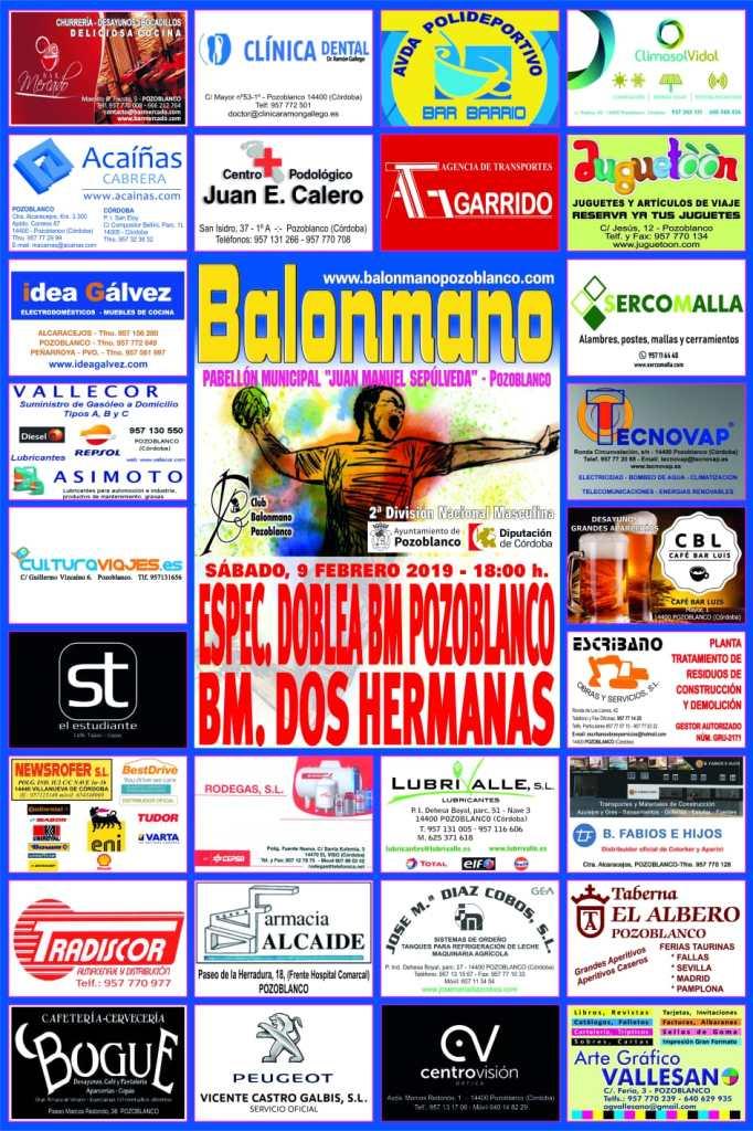 Balonmano Pozoblanco - BM Dos Hermanas