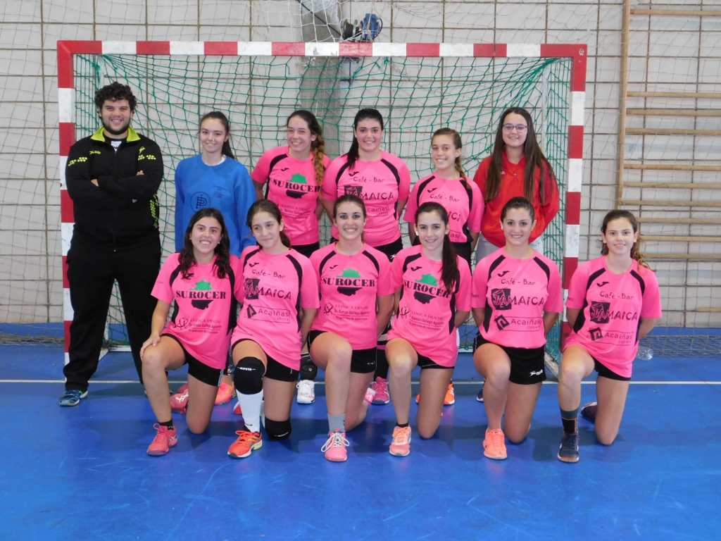 Equipo Cadete Femenino Club Balonmano Pozoblanco 2019