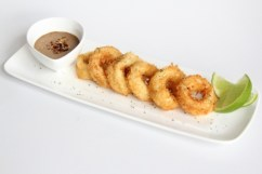 Calamari with Black Garlic Aioli