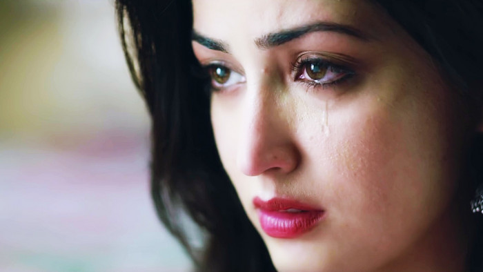 Picture Girls Crying And Profile Sad