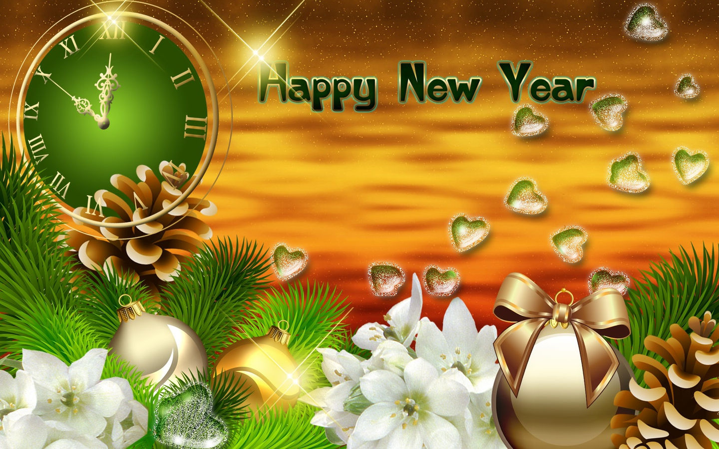 new year background hd