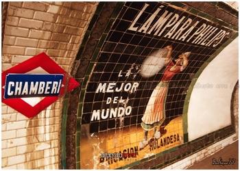 estacion metro chamberi