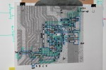 Z80 data gate layout