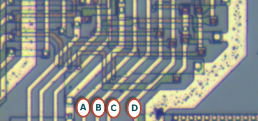 Z80 data pins control signals