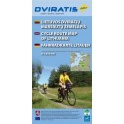 Cycle route map Lithuania