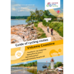 Cycle route in Vidzeme (booklet)