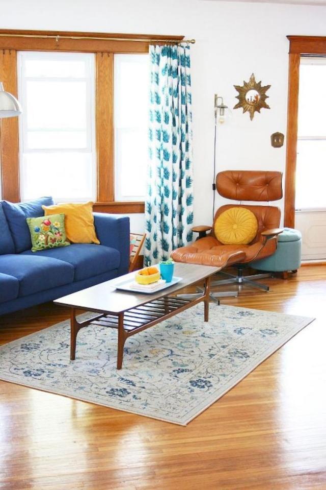 60+ MID Century Modern Living Room Decor Inspirations ...