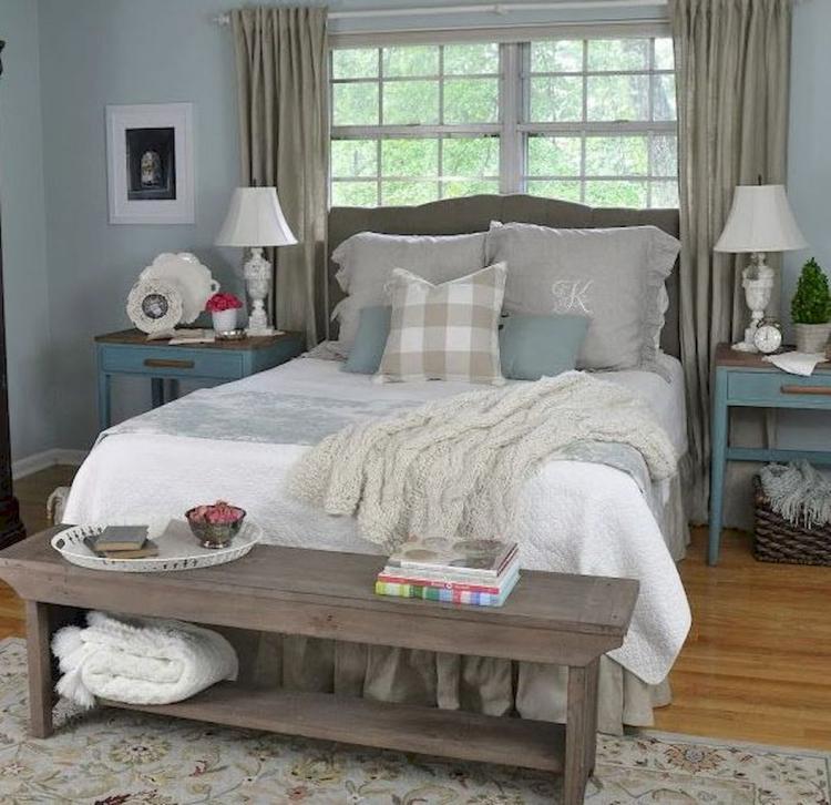 70 best modern farmhouse bedroom decor ideas on modern farmhouse master bedroom ideas id=85484