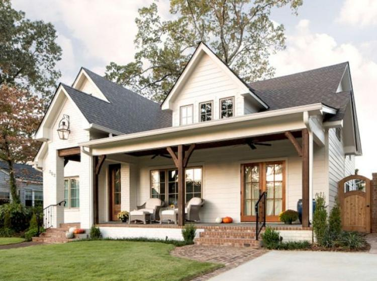 50 Farmhouse Front Porch Decor Ideas
