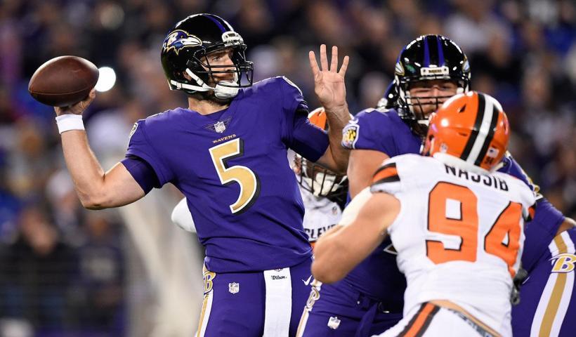 Ravens at Browns
