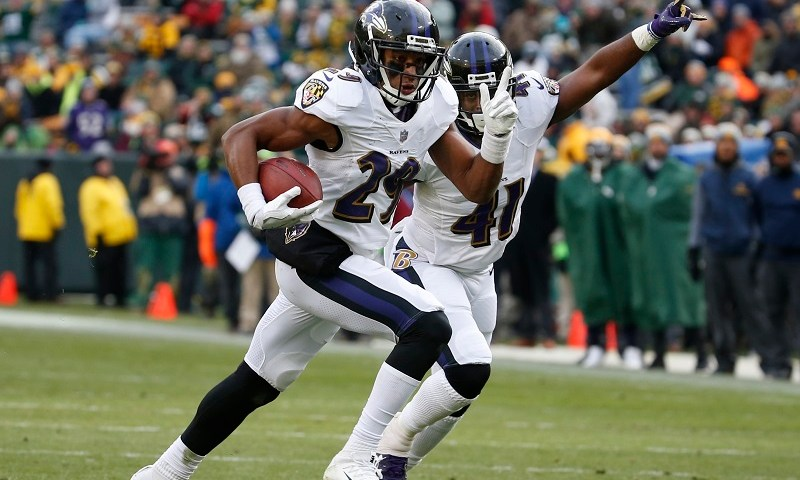 Ravens vs Packers Marlon Humphrey