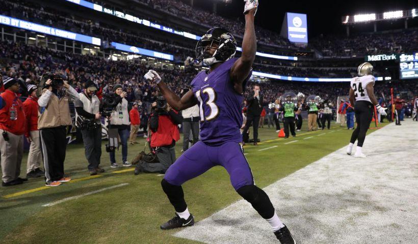 John Brown Ravens Mid Season Awards
